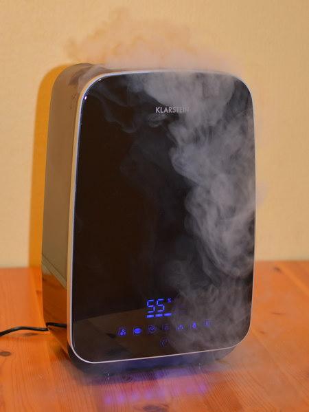 klarstein luftbefeuchter test